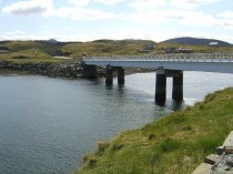 Isle of Great Bernera bridge