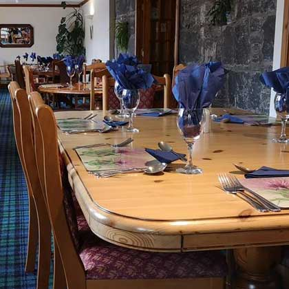 Food and Drink at Doune Braes Hotel